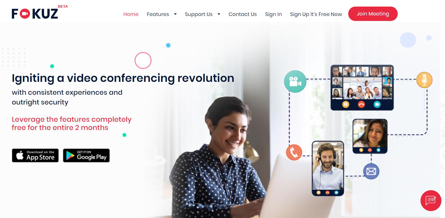 ZOOM、Google Meetの競合と目されるインド発「Fokuz」とは?
